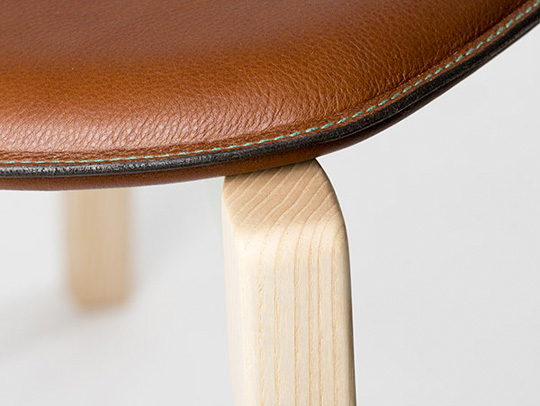 Upholstery Club | Sewn Leather Chair Pad